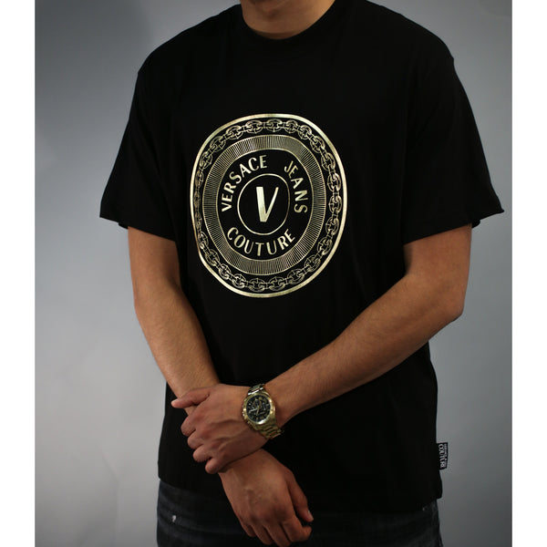Versace - Tröja - Round Logo T-shirt - Thernlunds