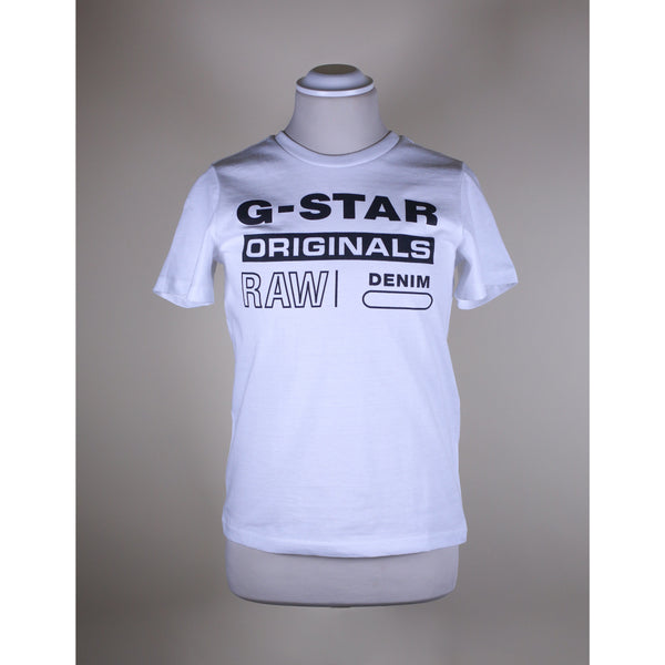 G-star raw - T-shirt - SQ10036 Tee tee shirt (01 White) - Thernlunds