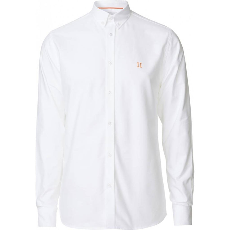Les Deux - Skjorta - Oliver Oxford Shirt (WHITE) - Thernlunds