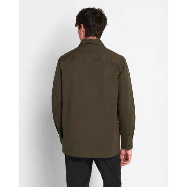 Lyle & Scott - Skjorta - Cotton Overshirt (W123 Trek Green) - Thernlunds
