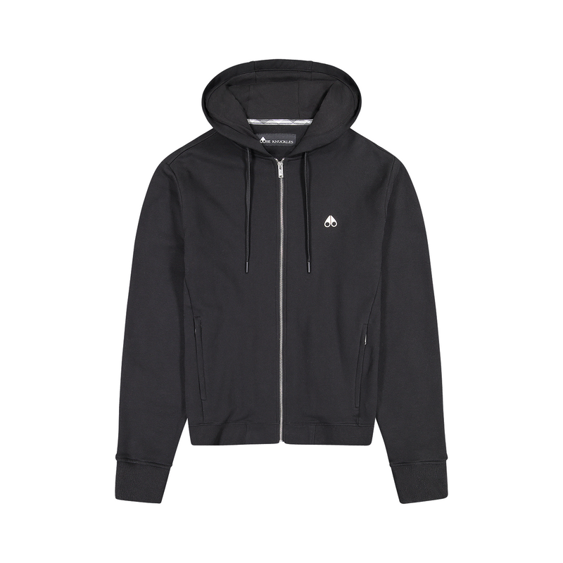 Moose Knuckles - Tröja - Trafford Hoody (292 Black) - Thernlunds