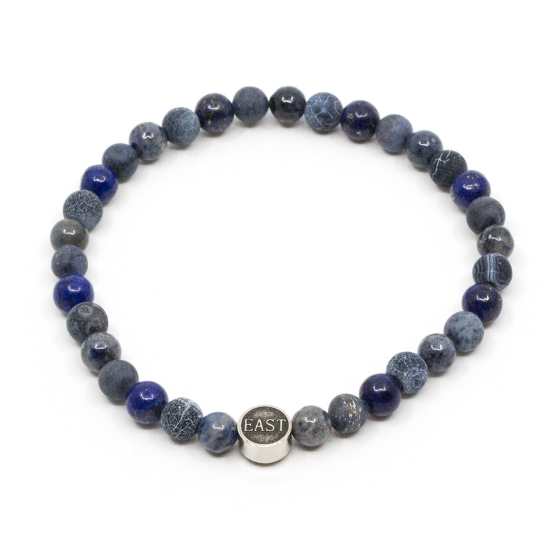 Seven/East - Smycken - Seven/East Bracelet (BLUE) - Thernlunds