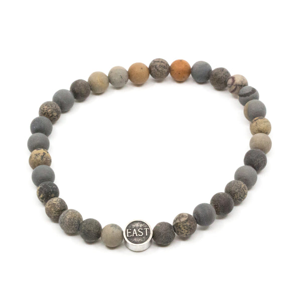 Seven/East - Smycken - Stavanger Bracelet (GREY) - Thernlunds