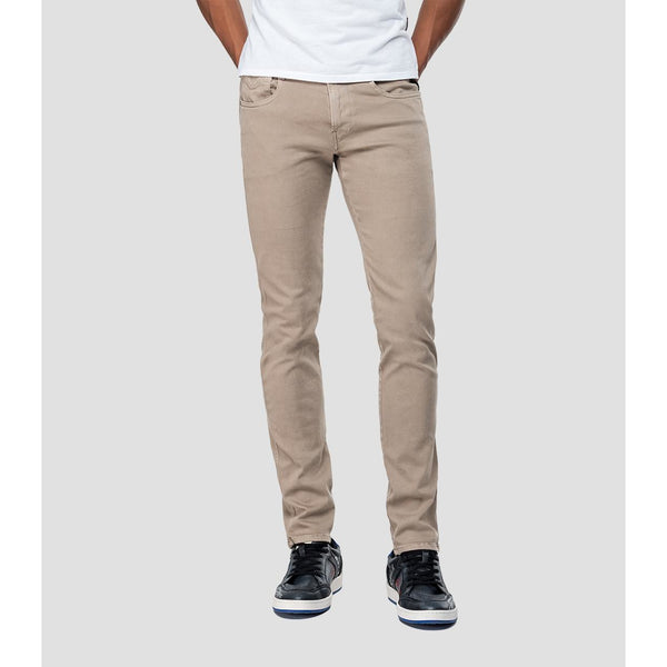 Replay - Byxa - Slim Fit Hyperflex Anbass Jeans (020 Sand) - Thernlunds