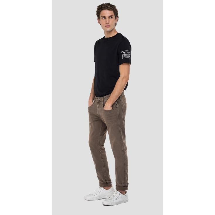 Replay - Byxa - Slim Fit Hyperflex Anbass Jeans - Thernlunds