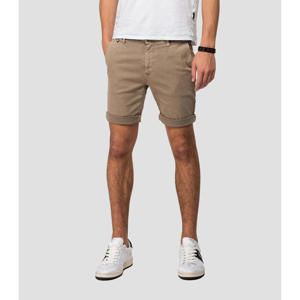 Replay - Shorts - Hyperflex Chino Shorts (020 Beige) - Thernlunds