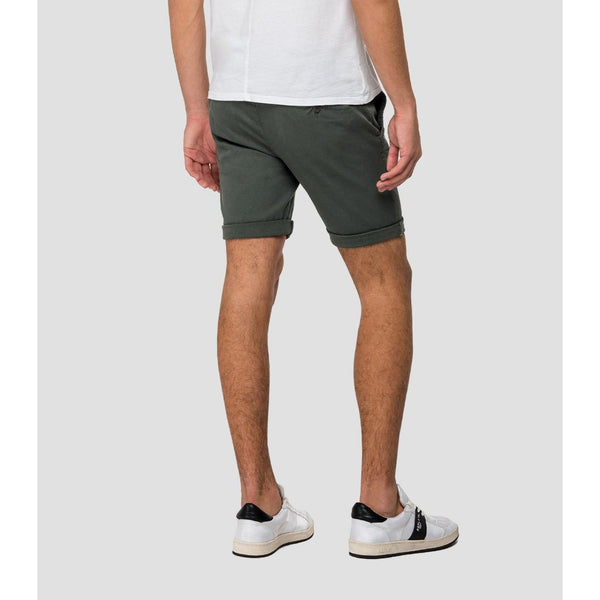 Replay - Shorts - Hyperflex Chino Shorts (130 Green) - Thernlunds