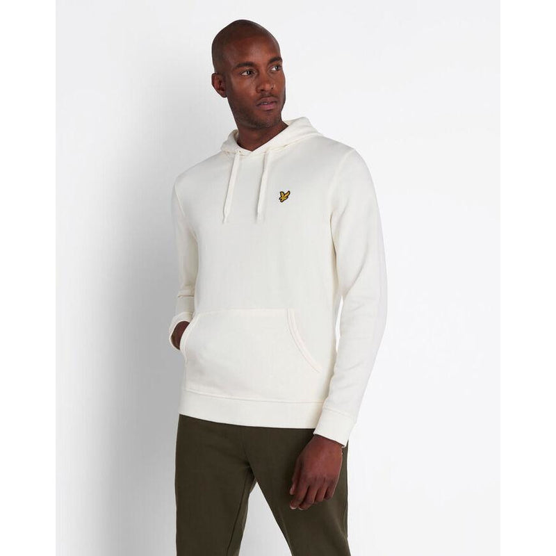 Lyle & Scott - Tröja - Pullover Hoodie (W120 Vanilla Ice) - Thernlunds