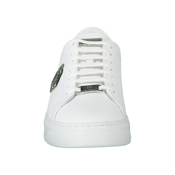 Rubber Leather Lo-Top Sneaker Hexagon - Thernlunds
