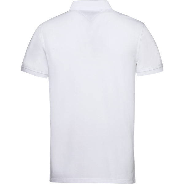 Tommy Hilfiger Menswear - Pikétröja - Core Tommy Regular Polo (100 Bright White) - Thernlunds