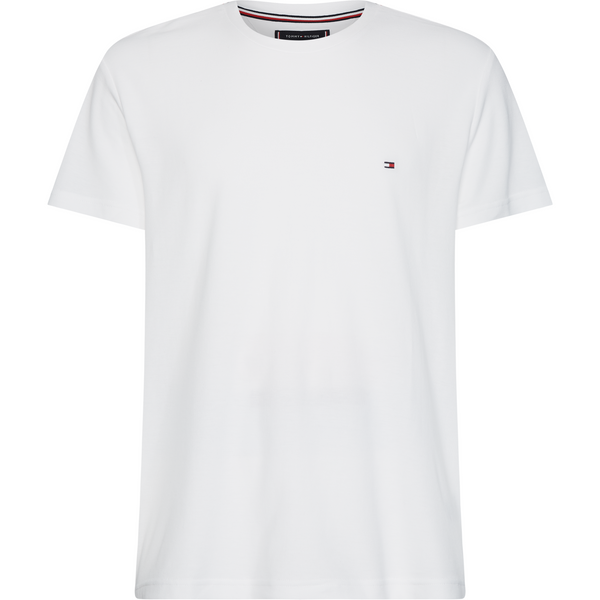 Tommy Hilfiger Menswear - T-shirt - Wcc Flex Pique Tee (YBR White) - Thernlunds