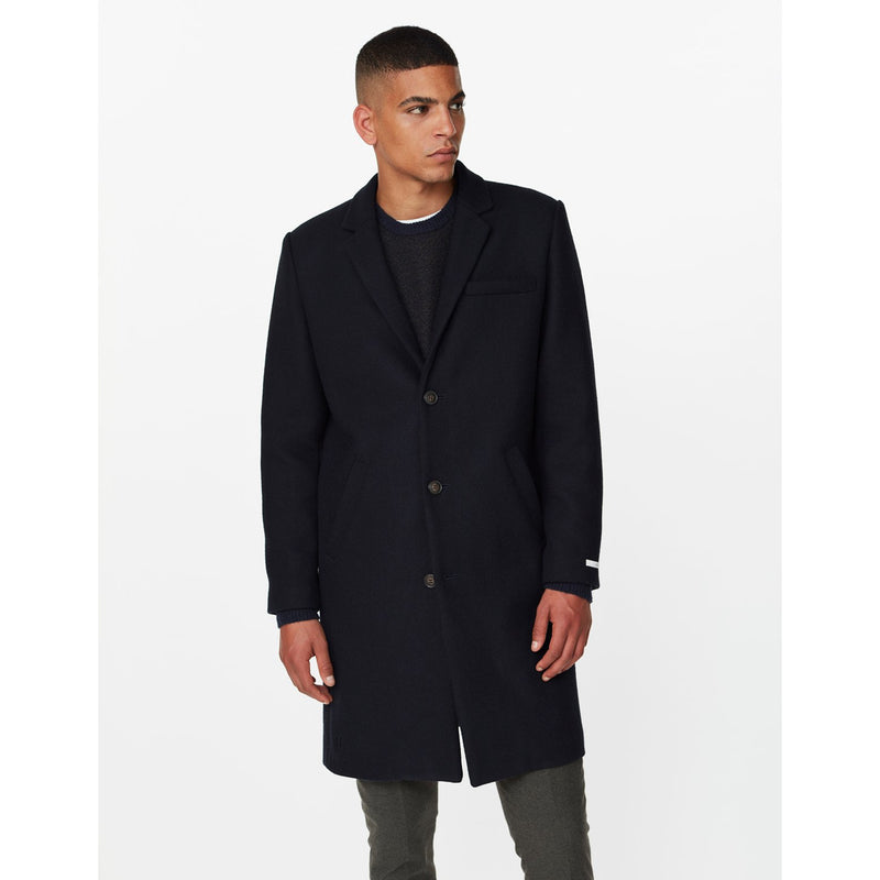 Les Deux - Rock - Madison Wool Coat (dark navy) - Thernlunds