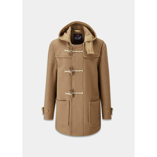 Gloverall - Rock - Monty Mid Lenght Duffle Coat (BEIGE) - Thernlunds