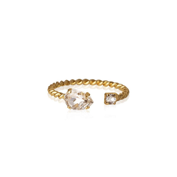 Nani Ring Gold (001 Crystal)