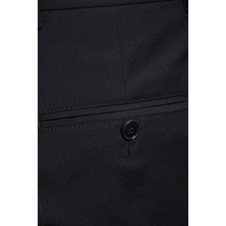 Oscar Jacobson - Byxa - 525-4158 Dave Trousers (310 Black) - Thernlunds