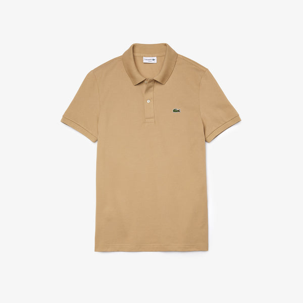 Short Sleeved Ribbed Collar Shirt - Thernlunds
