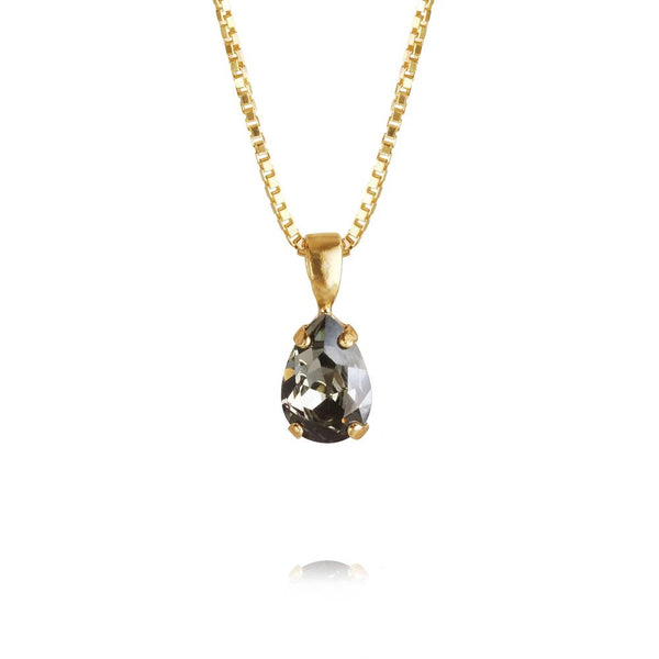 Petite Drop Necklace Gold - Thernlunds