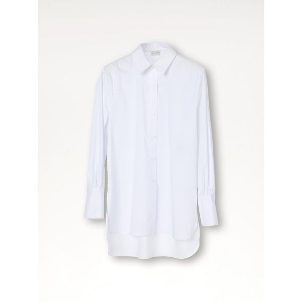By Malene Birger - Blus - Martigues Blouse (090 Pure White) - Thernlunds