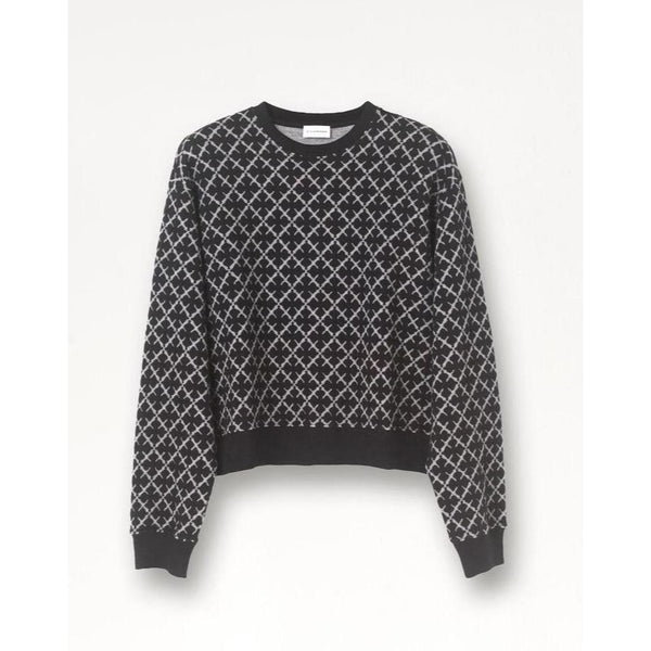 By Malene Birger - Tröja - Yasmia Sweatshirt (050 Black) - Thernlunds