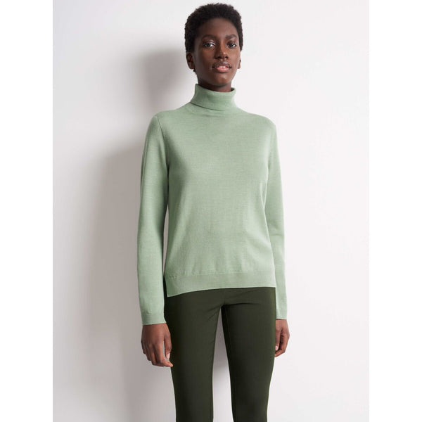Tiger of Sweden - Tröja - Folia Pullover (4G3 Pale Jade) - Thernlunds