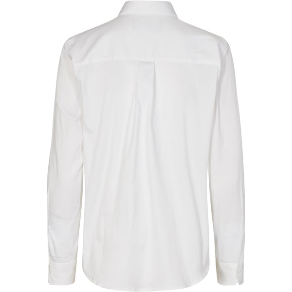 Mos Mosh - Skjorta - Tina Jersey Shirt (101 White) - Thernlunds