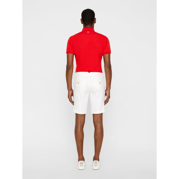 J.Lindeberg - Shorts - M Eloy Reg Micro Stretch Shorts (0000 White) - Thernlunds