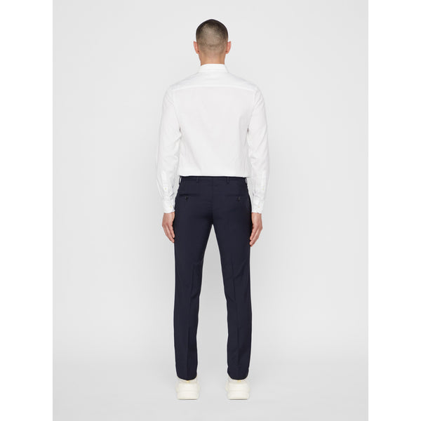 Paulie Comfort Wool Trousers (6666 Navy)