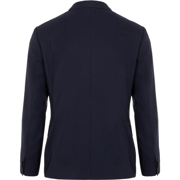J.Lindeberg - Kavaj - Hopper Soft Comfort Wool Blazer (6666 Navy) - Thernlunds