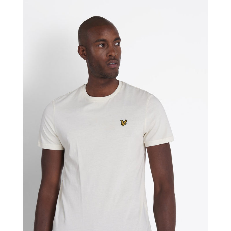 Lyle & Scott - T-shirt - T-Shirt (W120 Vanilla Ice) - Thernlunds