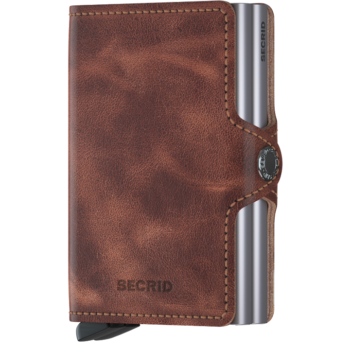 Secrid - Plånbok - Twinwallet Vintage (Brown) - Thernlunds