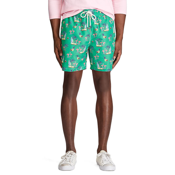 TRAVELER SHORT (001 Coconut Flamingos)