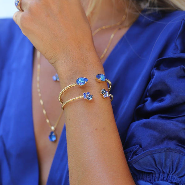 Mini Drop Bracelet Gold - Thernlunds