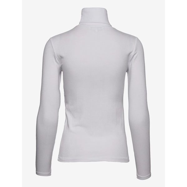 Calvin Klein Jeans - Tröja - Ls Rib Roll Neck (YAF Bright White) - Thernlunds