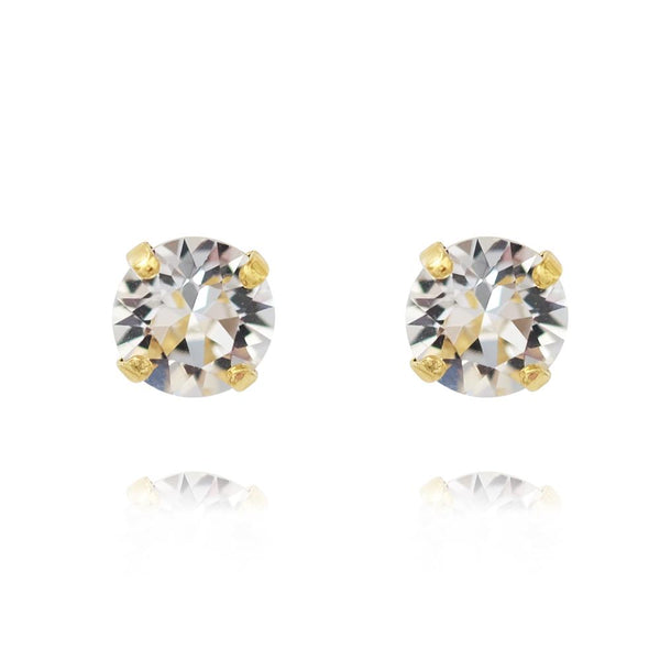 Classic Stud Earring Gold - Thernlunds