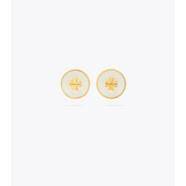 64885 Kira enamel circle earrings (New ivy)