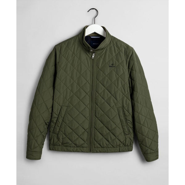 Gant - Jacka - The Quilted Windcheater (358 Four Leaf Clover) - Thernlunds
