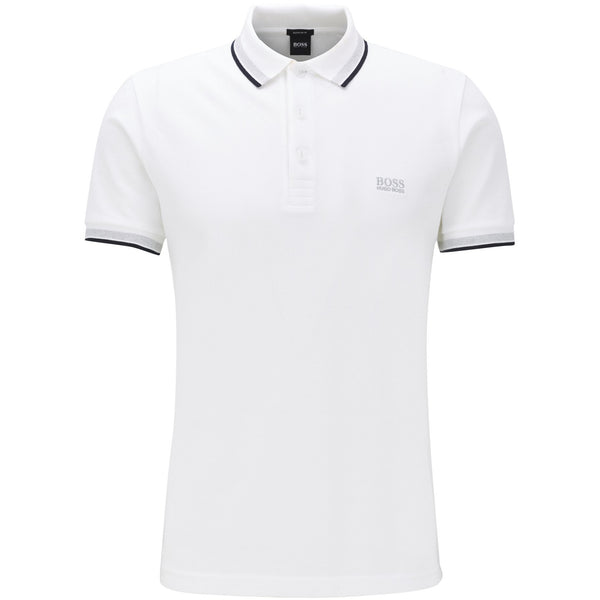 Hugo Boss Business - Pikétröja - Paddy Polo (100 White) - Thernlunds