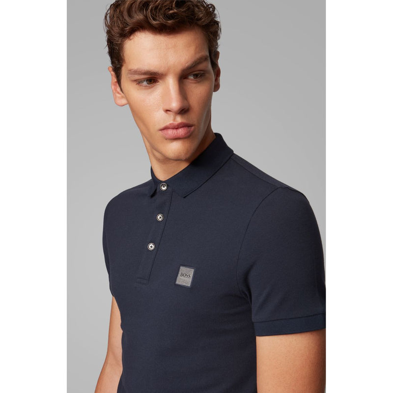 Hugo Boss Casual - Pikétröja - Passenger 10193126 01 (404 Dark Blue) - Thernlunds