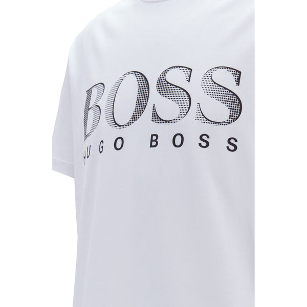 Hugo Boss Business - Skjorta - T-Shirt RN (101 Natural) - Thernlunds