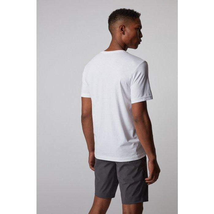 Hugo Boss Athleisure - T-shirt - Tee 5 10213473 01 (100 White) - Thernlunds