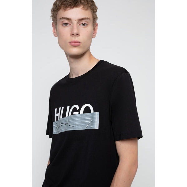 HUGO - T-shirt - Dicagolino_U204 10227776 01 (001 Black) - Thernlunds
