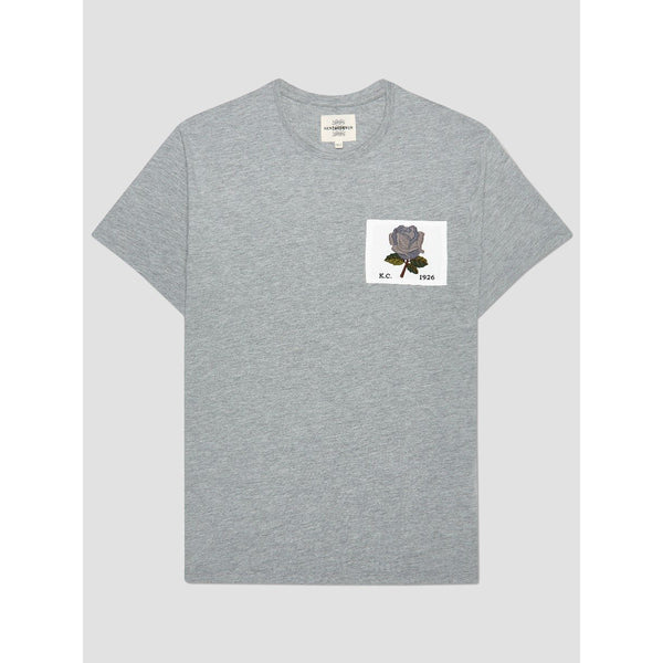 Kent & Curwen - T-shirt - Rose 1926 T-Shirt (95 Grey) - Thernlunds