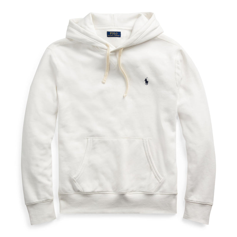 Polo Ralph Lauren - Tröja - LS Hood Sweater (009 White) - Thernlunds