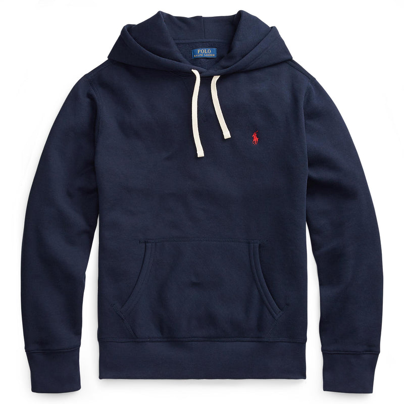 Polo Ralph Lauren - Tröja - LS Hood Sweater (007 Cruise Navy) - Thernlunds