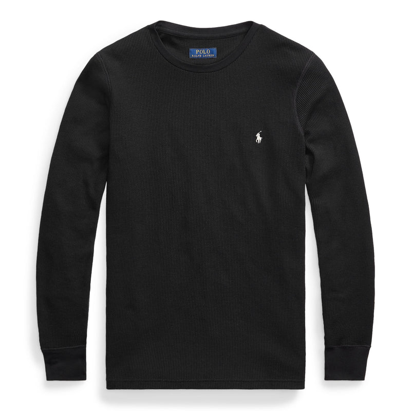 Polo Ralph Lauren - Pyjamas - L/S Waffle Crew Sleep Top - Thernlunds