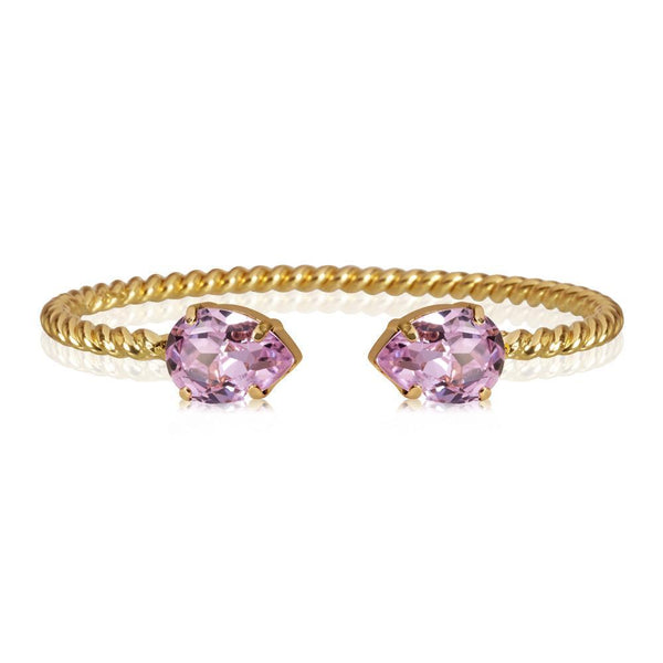 Mini Drop Bracelet Gold (VIOLET)