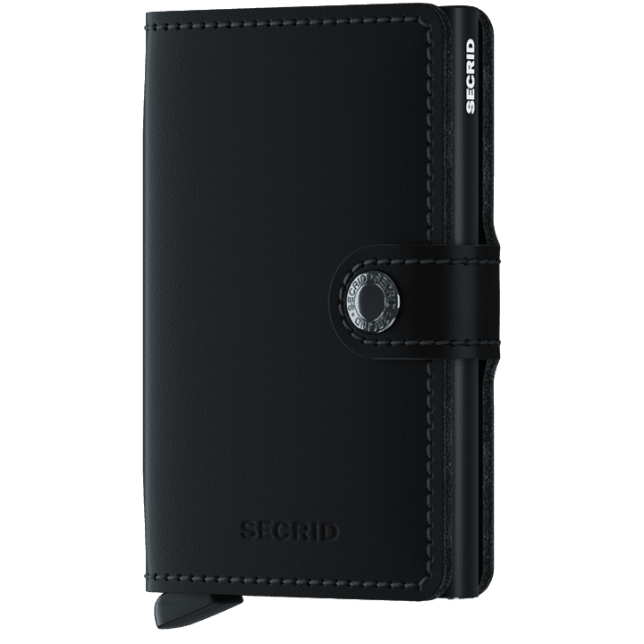 Secrid - Plånbok - Miniwallet Matte (Black) - Thernlunds