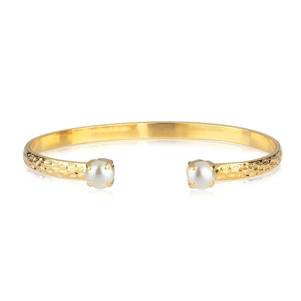 Natti Bracelet Gold (Pearl) - Thernlunds