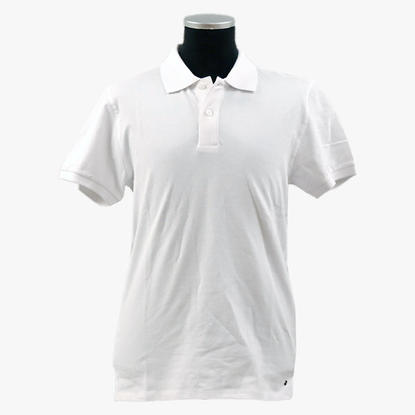 Lagency - Pikétröja - Ludvig Polo-Neck Short Sleeve (WHITE) - Thernlunds