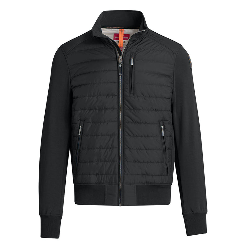 Parajumpers - Jacka - M Elliot Fleece & Puffer Jacket (541 Black) - Thernlunds